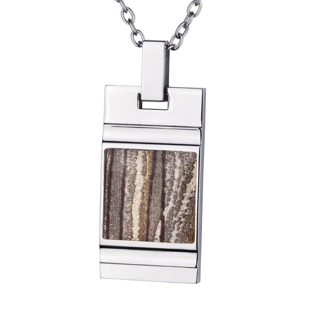 Stainless Steel Pendant *Jupiter* for men