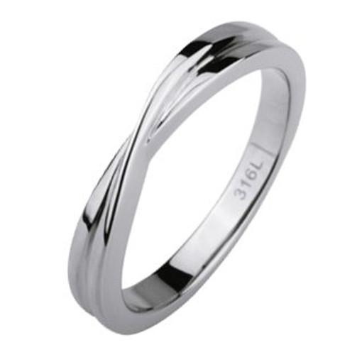 Stainless Steel Ring *Twist*