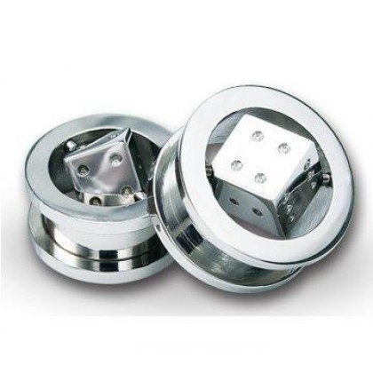 Stainless Steel Piercing Plug  (cod.BFTNT01)