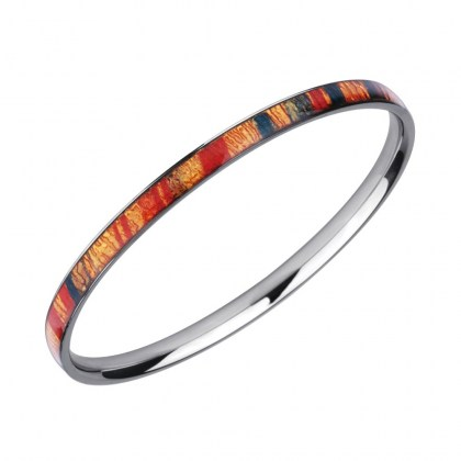 Stainless Steel Bracelet Bangle *Earth*