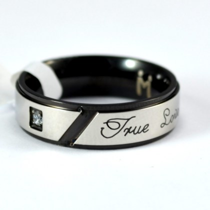 Stainless Steel Ring *True Love*