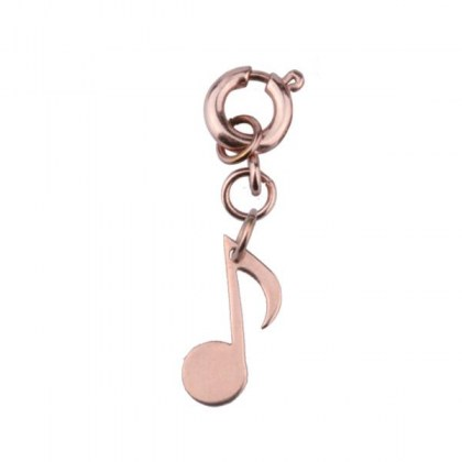 Stainless Steel Pendant / Charm rosegold