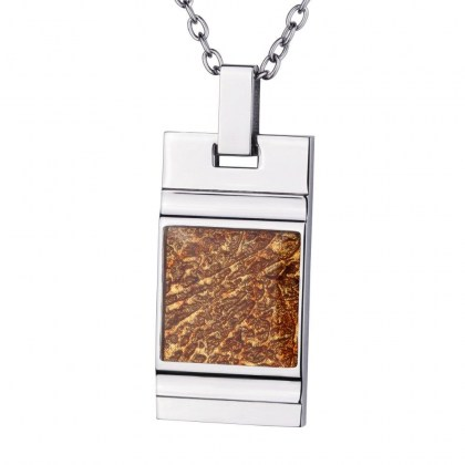 Stainless Steel Pendant *Sun* for men