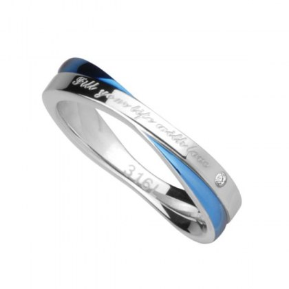 Stainless Steel Ring *FILL YOUR LIFE WITH LOVE*
