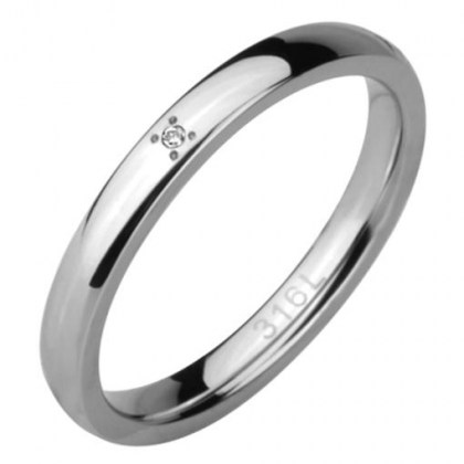 Stainless Steel Ring *MOMENTI*