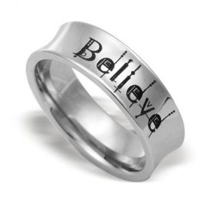 Stanless Steel Ring *Believe*