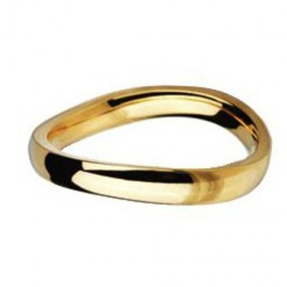 Stainless Steel Ring gold color *Colours of Desert*