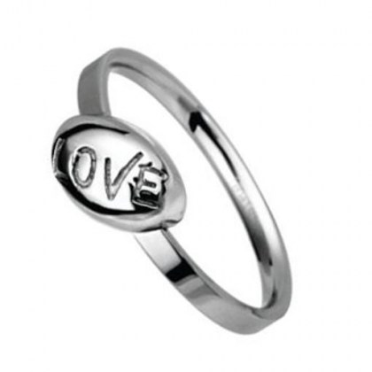 Stainless Steel Ring *TEEN LOVE*